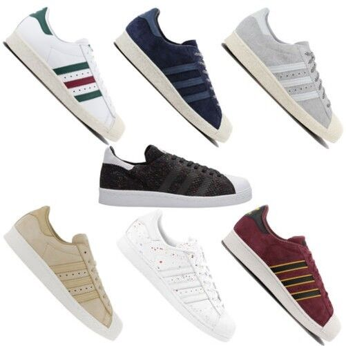 Adidas Originals Superstar Men's Fashion Trainers Shoes Leisure Shoe 80s