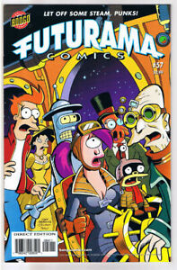 FUTURAMA-57-NM-Bongo-Fry-Bender-Leela-Professor-Farnsworth-more-in-store
