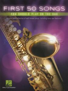 First-50-Songs-You-Should-Play-On-The-Sax-Alto-Saxophone-Sheet-Music-Book-Jazz