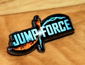 Jump-Force-Very-Rare-Promo-Pin-Badge-Gamescom-2018-E3-Xbox-One-Playstation-4