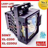 Sony Xl-2200u Hd Tv Lamp Rear Projection Replacement Bulb Housing Lcd Grand Wega