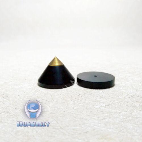 1 pc spike Ebony Wooden Copper speaker Spike CD foot 1 pc Pad