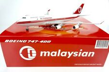 """Malaysia B747-400 Reg: 9M-MPP """" Retro """"  JC Wings 1:200 Diecast models LH2009"""