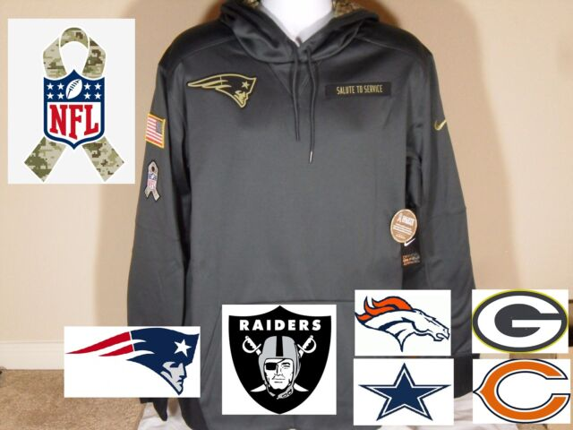 best sneakers b534e 22980 Nike 2016 NFL Salute to Service Limited Edition STS Player Hoodie Big Sizes  Camo