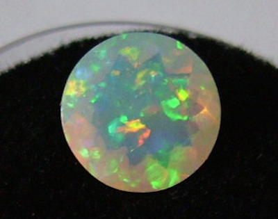 Loose Opal stone fire Opal white Opal cabochon welo Opal 2.90 CRT 14x10x5 MM Natural Ethiopian Opal oval loose gemstone calibrated opal