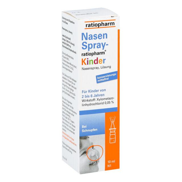 NasenSpray-ratiopharm Kinder 10ml PZN 00999854