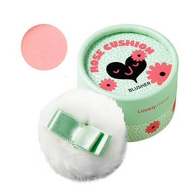 The Face Shop Lovely ME:EX Pastel Cushion Blusher #1 Rose Cushion