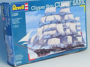 Revell-Clipper-Ship-Cutty-Sark-Model-Kit-Z-Scale-1-220