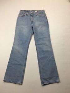 Damen-Levi-517-034-Bootcut-034-Jeans-W30-L32-Faded-Navy-Wash-super-Zustand