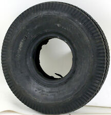 Deli Tire 4.10/3.50-4 NHS 2 Ply Sawtooth Tread Tubeless Tire 30 PSI NOS