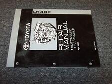 2012-2013 Toyota Corolla Matrix A140F Transmission Service Repair Manual 2.4L