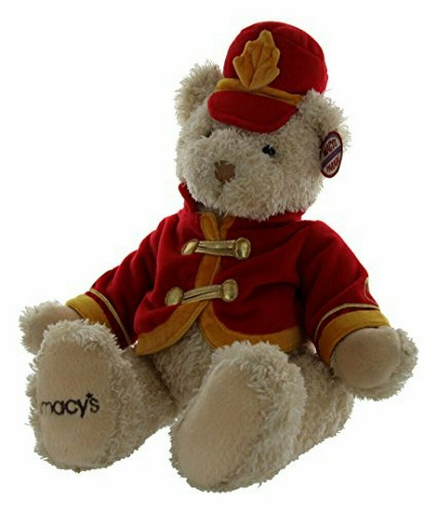 Macy's Thanksgiving Day Parade 2003 Gund Plush Soldier Teddy Bear Bear