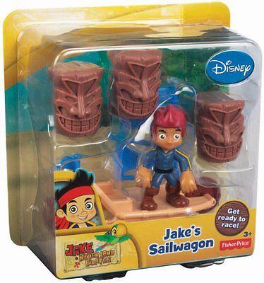 Jake/'s Sailwagon NIB Disney/'s Jake and The Never Land Pirates