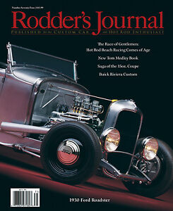 No-74-1930-Ford-Roadster-Cover-B-Newsstand-RODDERS-JOURNAL