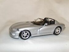 Viper RT/10 - 1995 Silver 1:24 Super Sports Car