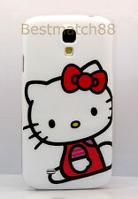 for Samsung galaxy S4 cute hello kitty withe  hot pink bow case i9500 /s 4 /SIV