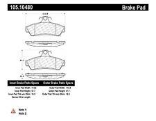 Centric Posi Quiet Brake Pad Ceramic 105.15390