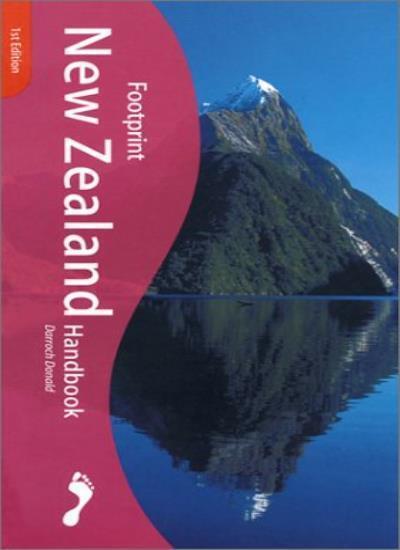 New Zealand Handbook: The Travel Guide (Footprint Handbook),Darroch Donald