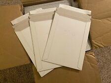 100 Cardboard Rigid Mailers 6 X 8 Recyclable