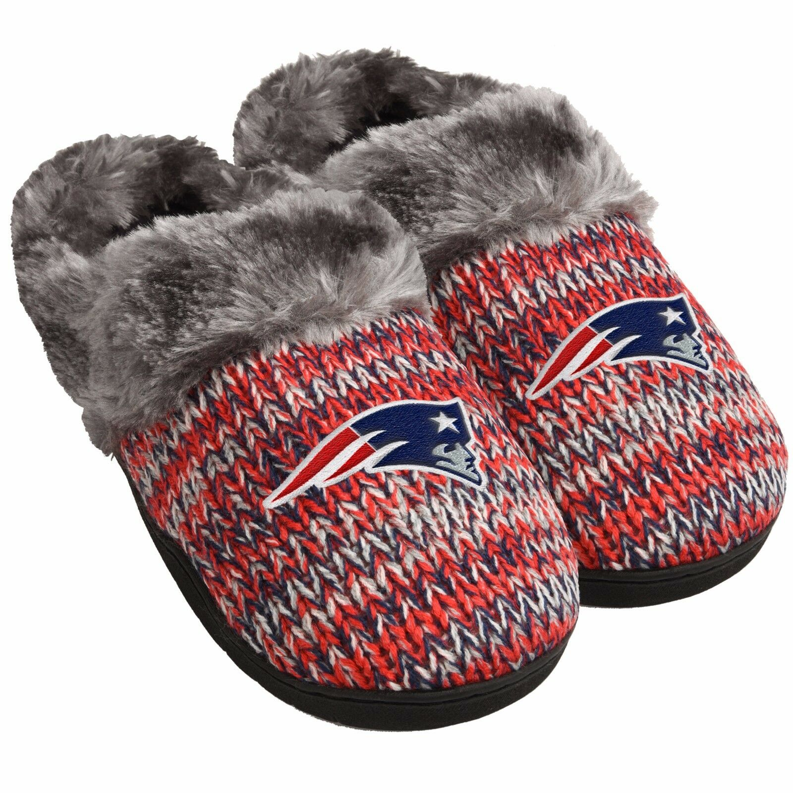 New England Patriots Slippers Logo NEW Womens Slide House shoes! Peak Slide