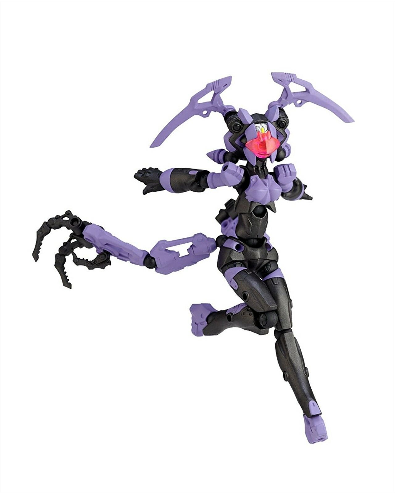 Revoltech Assemble Borg NEXUS 025 I.O Intaniya 145mm Complete Action Figure