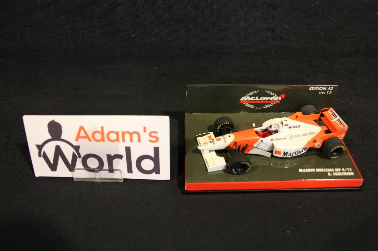 Minichamps McLaren Mercedes MP4 11 1996 1 43   8 David Coulthard (GBR) (MM1) M  garantie de crédit