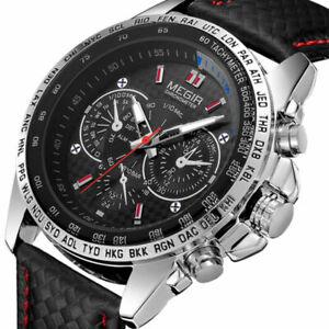 MEGIR-Mens-Military-Stainless-Steel-Analog-Sport-Quartz-Wrist-Watch-Waterproof