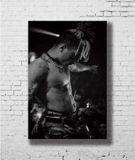 B-847 XXXTentacion Rap Hip Hop Music Star Rapper Singer 36 27x40 Fabric Poster