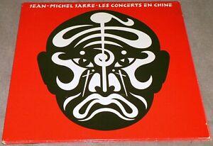 JEAN-MICHEL JARRE Les Concerts En Chine 1982 Dreyfus FDM 18110 Import Vinyl 2xLP