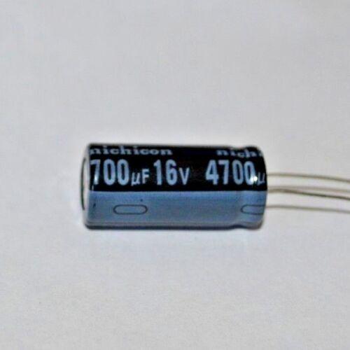 11x26mm 4700uf 16V