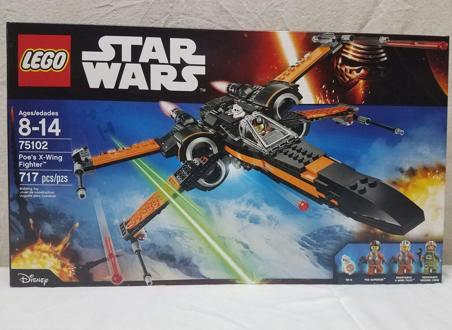 LEGO Star Wars Poe's X-Wing Fighter 75102 - NEW, SEALED   Building Toy NIB Toyz