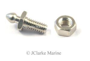 Tenax-fastener-threaded-stud-amp-2BA-nut-used-on-classic-kit-car-boat-hood-cover