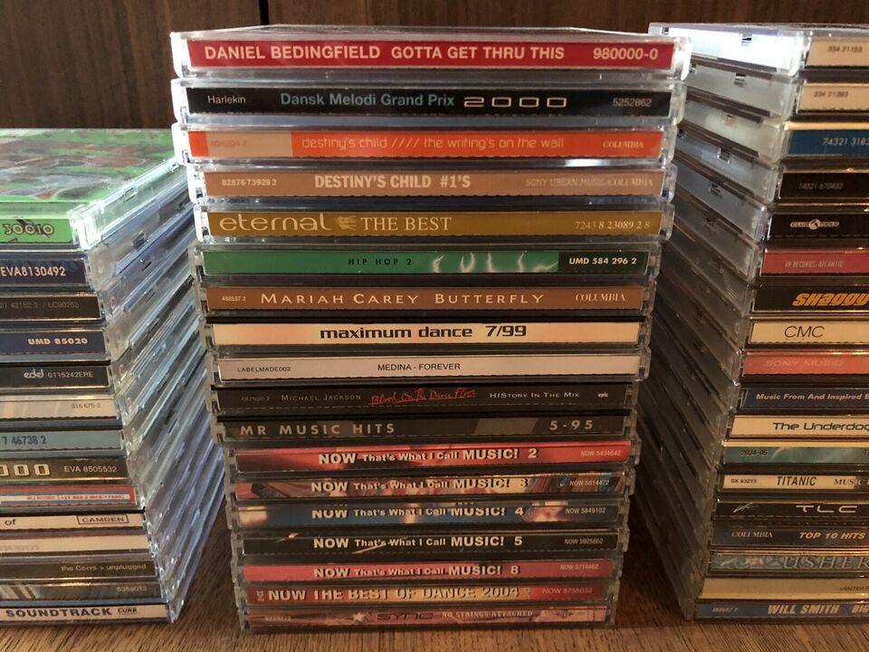 CD'er GRATIS fragt ved køb over 50kr.: CD Diverse,