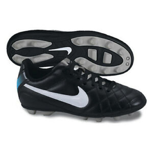 buy online ade43 e6d61 Image is loading Nike-JR-Youth-Tiempo-Rio-FG-R-Soccer-