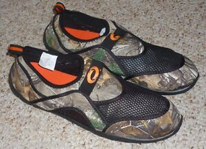 MENS SIZE 14 CAMO REALTREE AQUA SOCKS / WATER SHOES - BRAND NEW | eBay