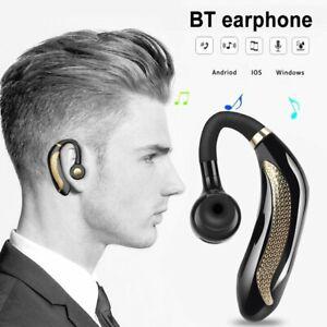 Mpow Bluetooth Headset Handsfree Wireless Earpiece In Ear Headphone Earbud New