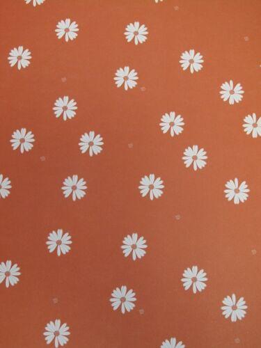 scrapbooking et cardmaking 5 feuilles A4 face en Marguerite support papier 120gsm