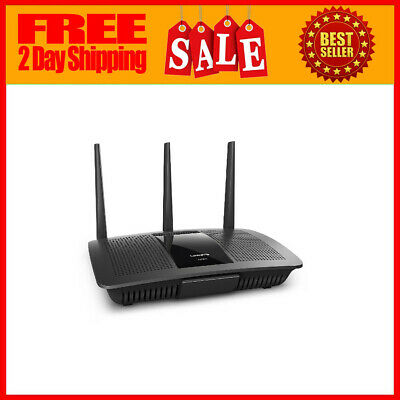 Works with  A Renewed Linksys EA7300-RM AC1750 Dual-Band Smart Wireless Router with MU-MIMO