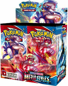Pokemon TCG Sword & Shield Battle Styles Booster Box 36 Packs EXPEDITED SHIPPING
