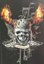"Disney Licensed Pirates of The Caribbean ""Sailors Grave"" Movie Promo T Shirt"