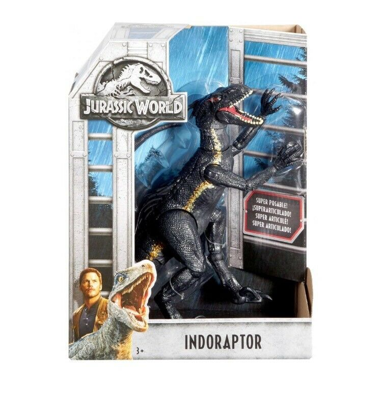 Jurassic World 2 Fallen Kingdom méchant indoraptor Action Figure 2018 Dinosaure