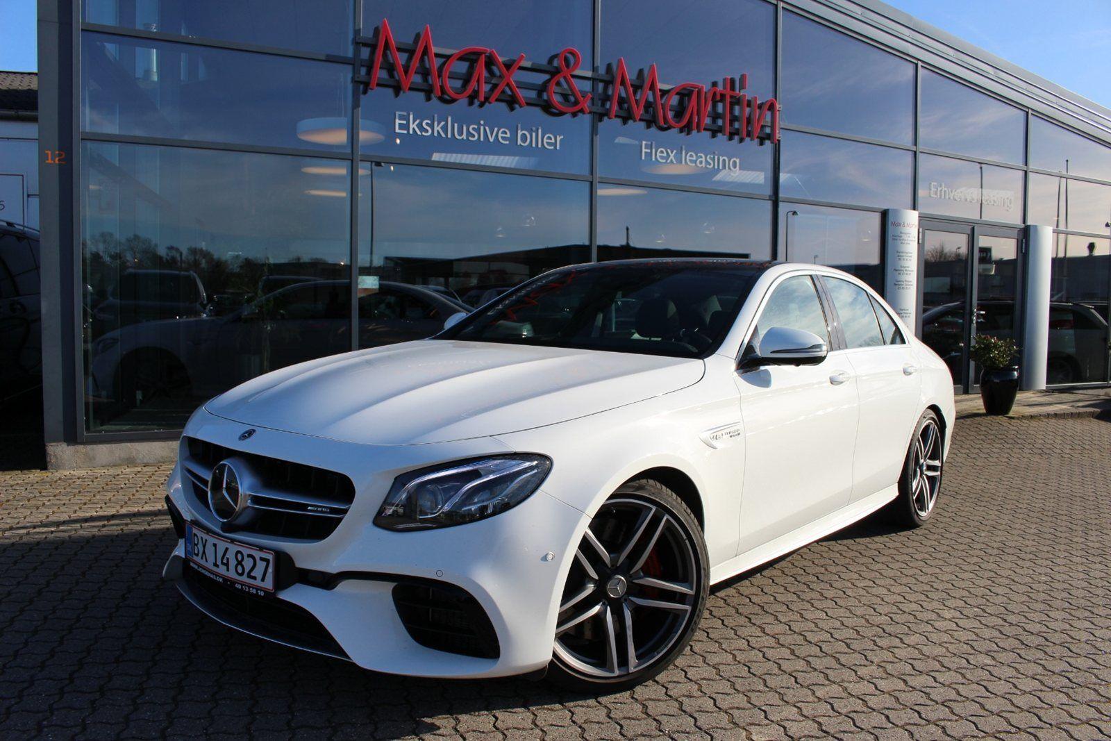 Mercedes E63 4,0 AMG S aut. 4-M 4d - 16.979 kr.