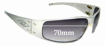 SFX Replacement Sunglass Lenses fits Gatorz Magnum 67mm Wide