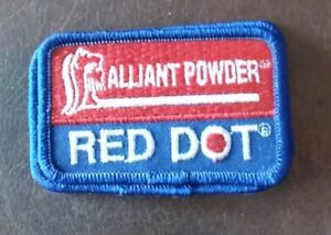 Details about Patch - Alliant Powder RED DOT NEW Iron On Embroidered Patch  - great