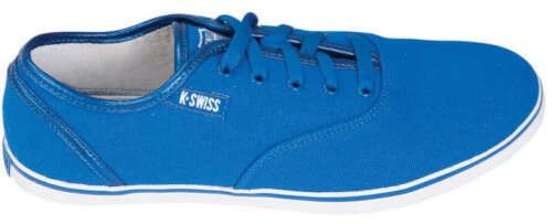 PLIMSOLL PLIMSOLL BLUE HOF II LOW CANVAS MENS SHOES K-SWISS MENS SHOES