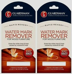 2 Guardsman Water Mark Amp Glass Ring Stain Remover Re