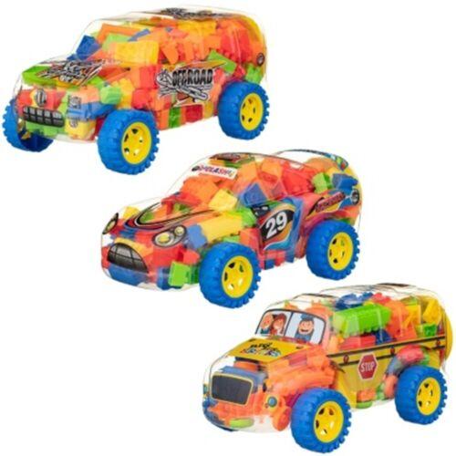 Ladrillo a ladrillo Niños Juguetes Vehículo contenedor construir vehículos increíbles estructuras y