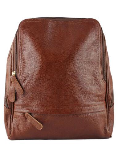 Daniela Moda Genuine Italian Leather Rucksack Backpack Leisure Travel Handbag