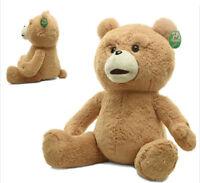 BABY GIRL GIANT HUGE STUFFED ANIMAL LOVELY BROWN TEDDY BEAR PLUSH SOFT TOY 60CM