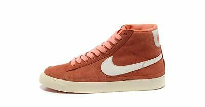 NIKE BLAZER MID TOP PRM 518171 614 Women/'s Pink Gum Sole Size 8 New in Box